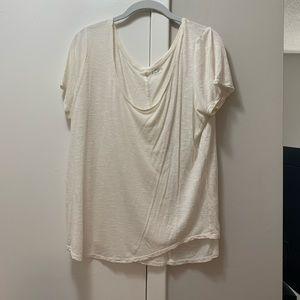 Loft white t shirt